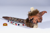 Beaded Creek Antler Pipe