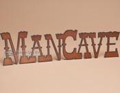 Rustic metal art wall decor.