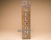 Metal Art Welcome Sign - Camper