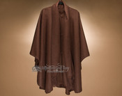 Southwest Alpaca Button Down Scarfed Cape (c21)