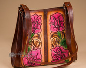 Southwestern Hand Tooled Leather Purse