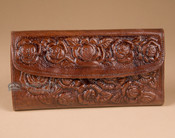 Southwestern Leather Handbag Wallet