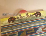 Indian Village Rug Wall Hanger -Spirit Bear