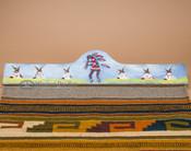 """Southwestern Tapestry Rug Hanger 30"""" - Kokopelli (RH4)"""