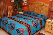 Southwest Tesuque Bedspread Front
