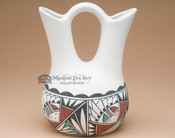 Native American Wedding Vase - Sunface