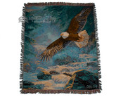 Soaring Eagle Jacquard Throw