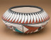 Southwestern Painted Tigua - Rain Bird Bowl