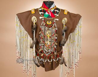 Native American warrior shirt - Creek.