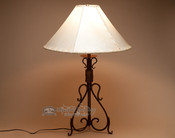 Wrought Iron Lamp - Oak Creek