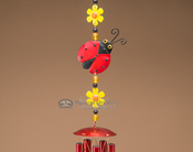 Wind Chime - Lady Bug