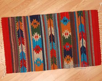 Southwest Zapotec Mexican Rug 23 Quot X39 Quot 140 Mission Del