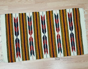 "Zapotec Indian Area Rug 23""x39"""