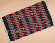 "Southwest Mexican Zapotec Rug 23""x39"" (98)"