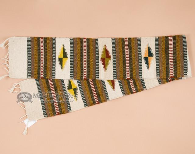 Southwest Wool Zapotec Table Runner