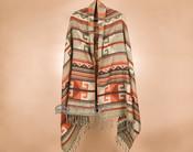 Southwestern Woven Shoulder Wrap