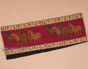 Running Horses Tapestry Table Runner