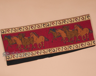 Running Horses Tapestry Table Runner