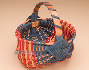 Small Handmade Amish Basket - Country