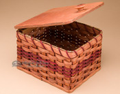Amish Made Basket for Makeup or Etc.