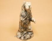 Horse Hair Navajo Pottery Bear