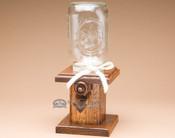 Amish Handcrafted Oak M&M Dispenser