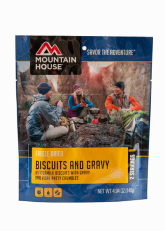 Freeze Dried Biscuits & Gravy