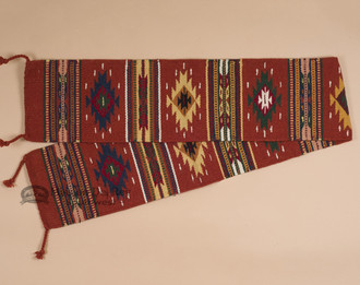 Wool Woven Table Runner - 10x80