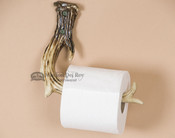 Lodge Faux Antler Toilet Paper Holder