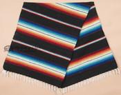 Southwestern Old Serape Style Mexican Blanket