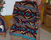 Southwestern Woven Throw - Lakota Sunrise