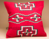 Woven Wool Front Southwest Pillow Cover