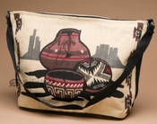 Southwestern Style Shoulder Purse -Pottery