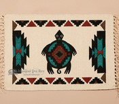 Southwestern Cotton Placemat 13x19 -Turtle