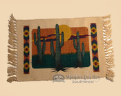 Southwestern Cotton Placemat 13x19 Kokopelli Himat152
