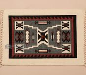 Southwest Cotton Placemat 13x19 -Navajo Storm