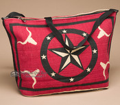 Southwest Native Design Purse -Red Star