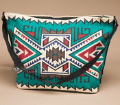 Southwest Native Design Purse -Turquoise Navajo