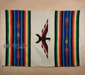 Thunderbird Southwestern Blanket -Beige