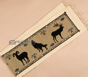 Southwestern Table Runner -Wildlife Close up