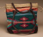 Southwestern Rug Tote Bag 17x17 (mont-i)