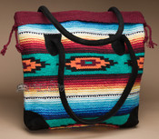 Rug Style Southwestern Tote Bag 17x17 (mont-r)