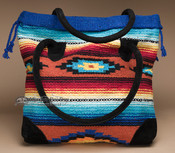 Rug Style Southwest Tote Bag 17x17 (mont-p)