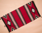 8 lb. Extra Heavy Handwoven Wool Saddle Blanket -Red