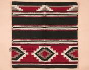 Classic Wool Saddle Blanket -Red & Black