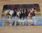 Rush Hour -Running Horses Cutting Board