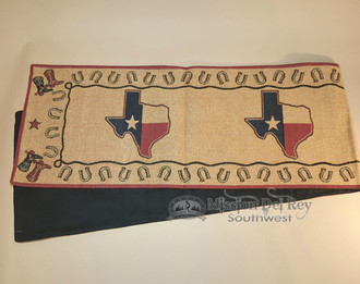 Southwest tapestry Texas Table Runner