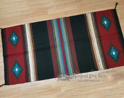 "8 lb. Wool Saddle Blanket 32""x64"" -Handwoven"