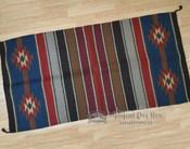 """Handwoven Wool Saddle Blanket 32""""x64"""" -8lb."""