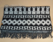 Soft Alpaca Blanket -Black